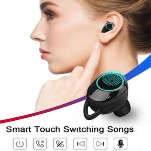 Image 2 - G02 TWS 5.0 Bluetooth 9D סטריאו אוזניות אלחוטי אוזניות IPX7 עמיד למים אוזניות 4000mAh LED תצוגה חכם כוח בנק