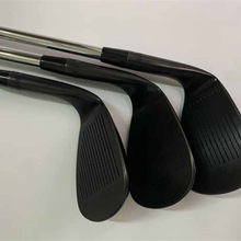WEDGES Golf-Milled Golf-Clubs-Sm8 Head-Cover Degrees-Steel-Shaft BLACK 60 58 54 56 50