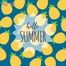 Yeele Summer Party Photocall Pineapple Drink Surfer Photography Backdrops Personalized Photographic Background For Photo Studio