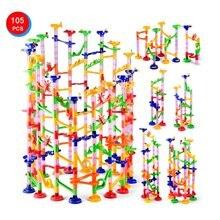 105 шт/компл мраморные треки дошкольные Обучающие игрушки детский
