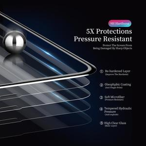 Image 5 - 3D Tempered Glass for iPhone 11 Pro Max on iPhone XR X XS Max Full Cover Screen Protector Protective Glass for iPhone 11Pro 2019