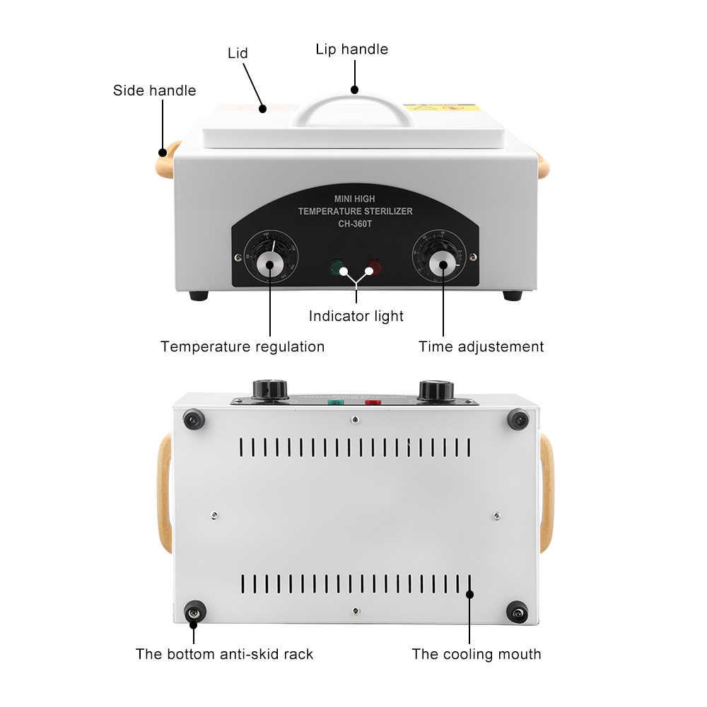 Высокотемпературный стерилизатор, высокотемпературный стерилизатор для маникюрных инструментов