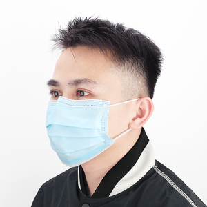 Image 5 - 50 100 pcs 3 Layer Non woven Dust Proof Flu Face Mask Thickened Disposable Mouth Mask Anti Dust Protective Earloops Cover Masks