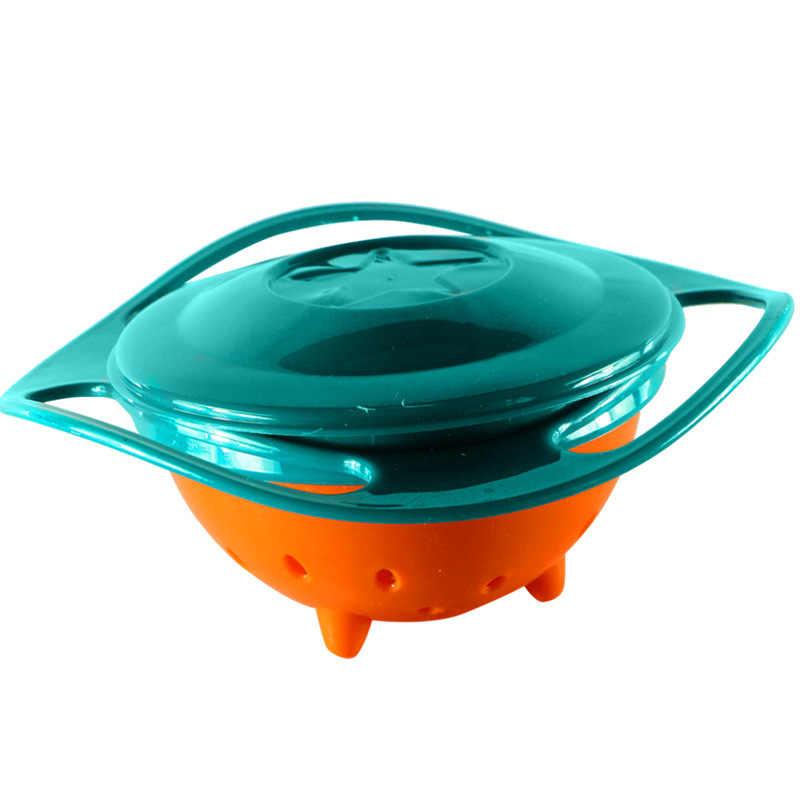 Creative เด็กการเรียนรู้จานชามคุณภาพสูง Assist เด็กวัยหัดเดินเด็กอาหารเย็นสำหรับเด็กรับประทานอาหารการฝึกอบรม Gyro ชาม