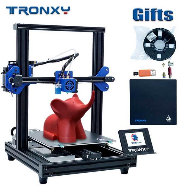 2020 최신 풀 메탈 3D 프린터 Tronxy XY 2 프로 빠른 어셈블리 자기 열 종이 255*255mm hotbed 0.25KG PLA 필 라 멘 트 선물로