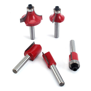 Image 5 - Milling Cutter machine 15pcs/set  1/4/ 8mm Shank Carbide Router Bit Wood Milling Saw Cutter All Purpose Tungsten Carbide Route