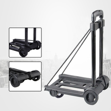Luggage-Cart Trunk Travel-Trailer Car-Shopping-Trolley Folding Household Portable Hand-Pull