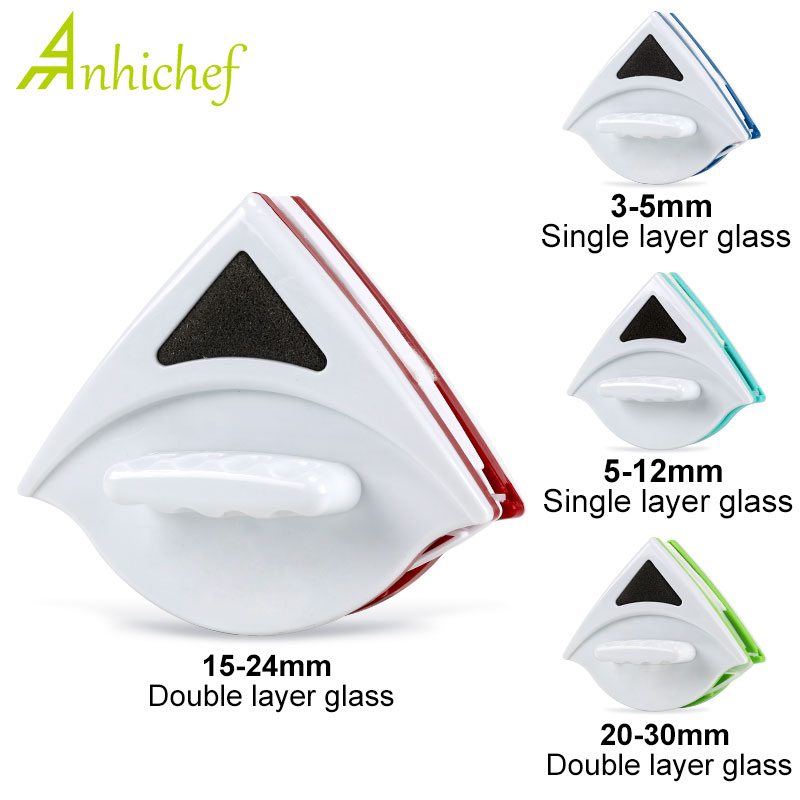 Deal╛Brush Magnet-Glass-Cleaner Wash-Window-Wiper Household Double-Side for Cleaning