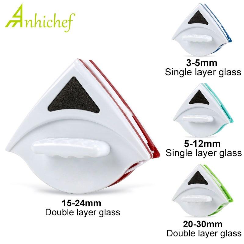 Dwustronnie magnetyczne urządzenie do czyszczenia okien szczotka do mycia okien czyszczenie szkła wycieraczka do mycia naczyń magnes środek do czyszczenia szkła