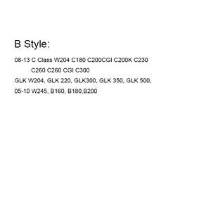 Image 3 - Car Grille Light Badge Led Front Logo Emblem For Mercedes Benz W166 W176 W204 W207 W212 W218 W245 W251 W463 Auto Accessories