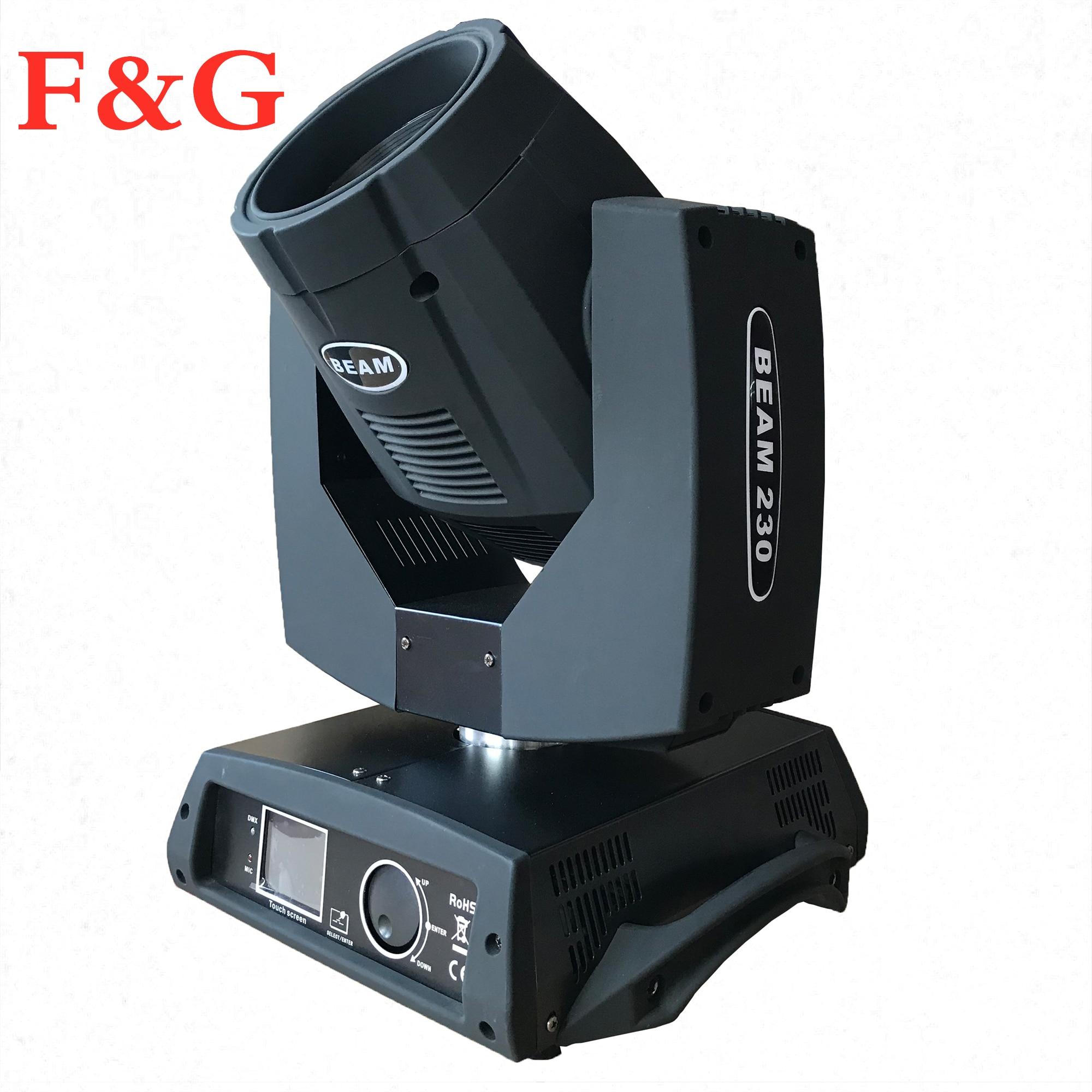F & G LED haz 7R 230W luz LED cabeza móvil lámpara DMX512 escenario luz efecto para el diseño de iluminación danza Disco DJ mús