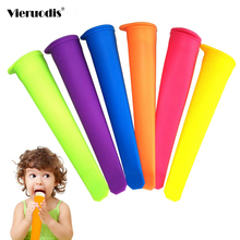 Silicone Ice Stick Molds Form for Ice Cream Maker DIY Summer Frozen Ice Cream Mold Kitchen Tools Popsicle Maker Lolly Mould New цена и фото