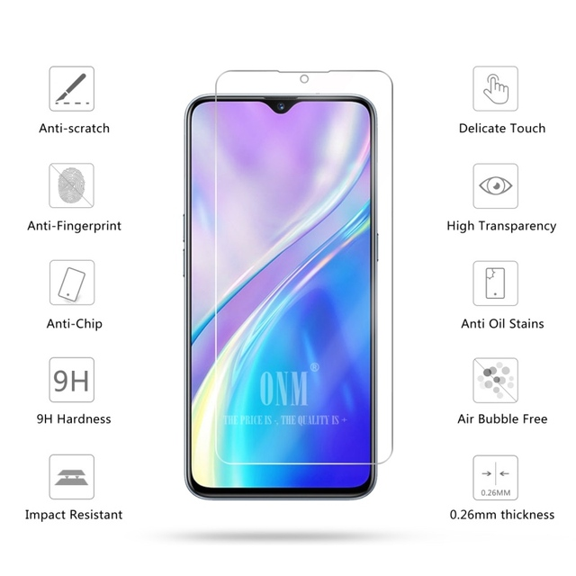 Tempered Glass For Realme XT 730G Glass Screen Protector 2.5D 9H Premium Tempered Glass For Realme XT 730G Protective Film