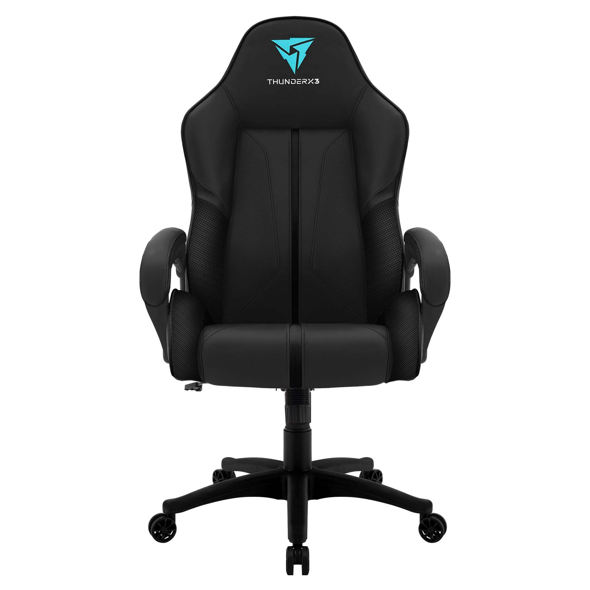 ThunderX3 BC1, Chair Gaming Ergonomic, Synthetic Leather, Technology AIR, Height Adjustable, Black