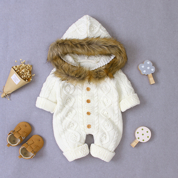 LZH 2020 Autumn Infant Hooded Knitting Jacket For Baby Clothes Newborn Coat For Baby Boys Girl Jacket Winter Kids Outerwear Coat 19