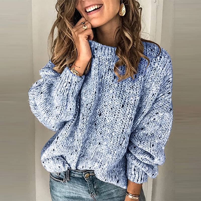 Winter Women Sweater Fashion Long Sleeve Knitwear Sweaters Autumn Vintage Jumper Pull Femme Knit Tops Pullover Blusas Basic Top