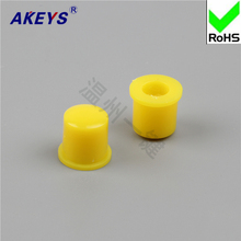 15pcs  A22 / Yellow with key switch / key switch Hats High quality straight key switch Hat switch locks 304 stainless steel high quality engineering toilet partitions locks rotary switch with switch tips hardware locks