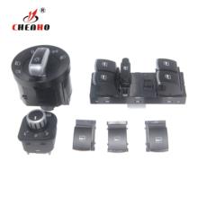 6 sztuk lusterko okienne przełącznik reflektorów dla V-W J etta 6 Golf G-TI 5 6 Tiguan Passat B6 CC 5ND959857 5ND941431B 5ND 941 431 B tanie tanio Okno dźwigni i okna uzwojenia uchwyty CH-WDS013 5ND959857 5ND941431B 5ND 941 431 B 100 tested China 1 year Neutral Packing