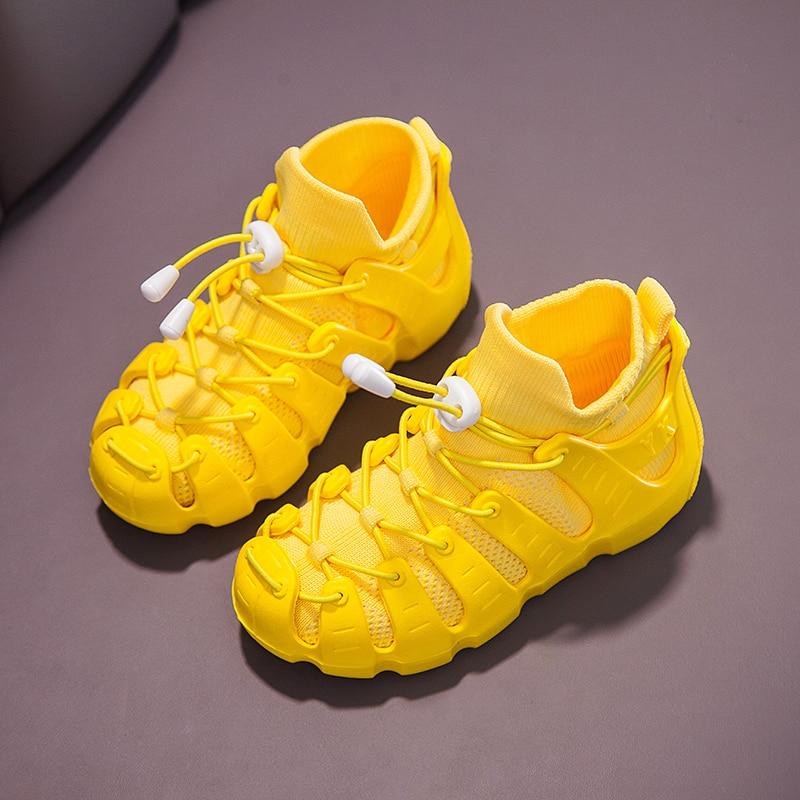 Spring Autumn Light Boys Shoes Kids Mesh   Flats Children Shoes Fashion Casual Boy Designer Sneakers