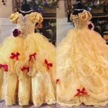 Женское винтажное платье с коротким рукавом оборками и кристаллами