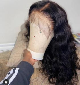 Image 4 - Pelucas frontales de encaje 13x4 para mujeres negras de largo 30 pulgadas, peluca de encaje Frontal, cuerpo ondulado, 4x4, pelucas de cabello humano Janin
