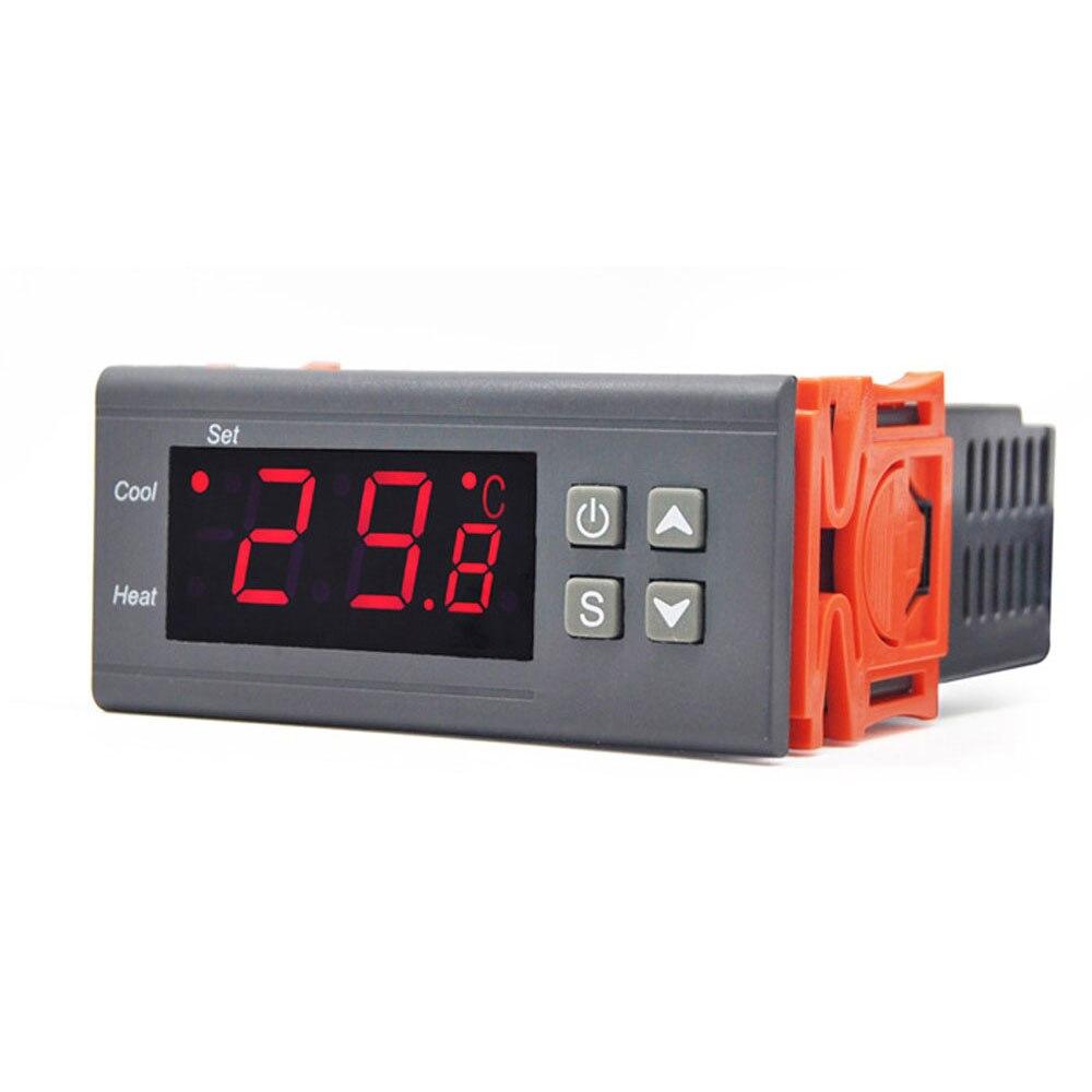 12 24 220V regolatore di temperatura digitale termoregolatore incubatore termostato riscaldamento raffreddamento per serra acquario|Strumenti per la temperatura| - AliExpress