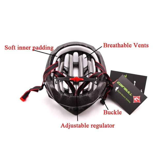 Ultra-luz de segurança esportes capacete de bicicleta de estrada capacete de bicicleta integralmente moldado capacete de bicicleta de estrada de montanha capacete ajustável 5
