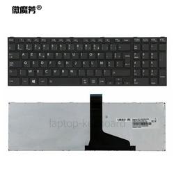 Французская клавиатура для TOSHIBA SATELLITE C850 C855D C850D C855 C870 C870D C875 C875D L875 L875D черная/белая FR AZERTY