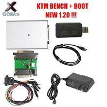 Programador ECU 1,20 KTM BENCH, lectura y escritura a través del Banco de arranque V1.20 ktm bench KTMBENCH Flash EEPROM para arranque + Banco