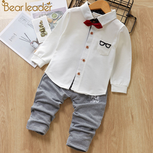 Bear Leader Baby Clothing Sets Kids Clothes Spring Baby Sets Kids Long Sleeve Sports Suits Bow