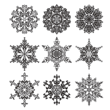 ZhuoAng Christmas Snowman Clear Stamps For DIY Scrapbooking/Card Making/Album Decorative Silicon Stamp Crafts