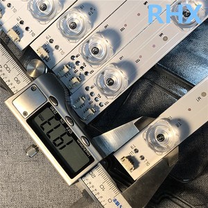 Image 2 - 28 개/몫 Haier m00KA U55A5 LCD 백라이트 바 LED55D10 01 (D) 30355010207 알루미늄 플레이트 LC546PU1I01 100% 새로운