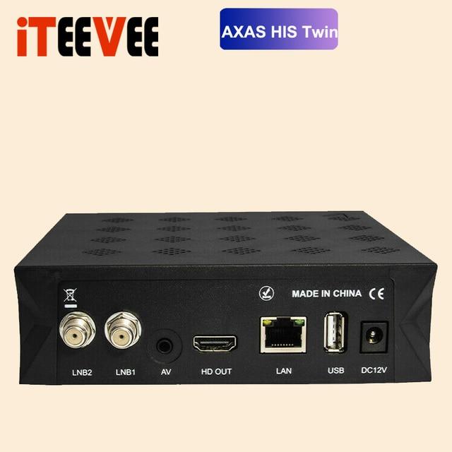 Full HD Satelliten-receiver Mit 2x DVB-S2 SAT Tuner Installiert Twin Linux E2 Open ATV vorinstalliert 6