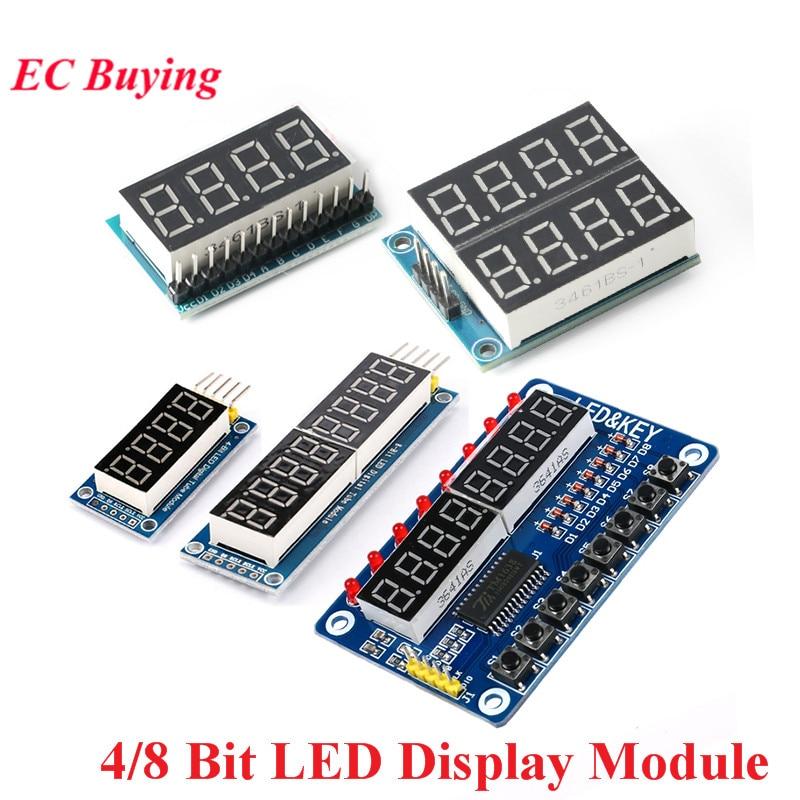 MAX7219 TM1638 4 8 Bit Digit Digital Rohr LED Display Control Modul Für Arduino 3,3 V 5V Dot Matrix mikrocontroller Fahrer Bord