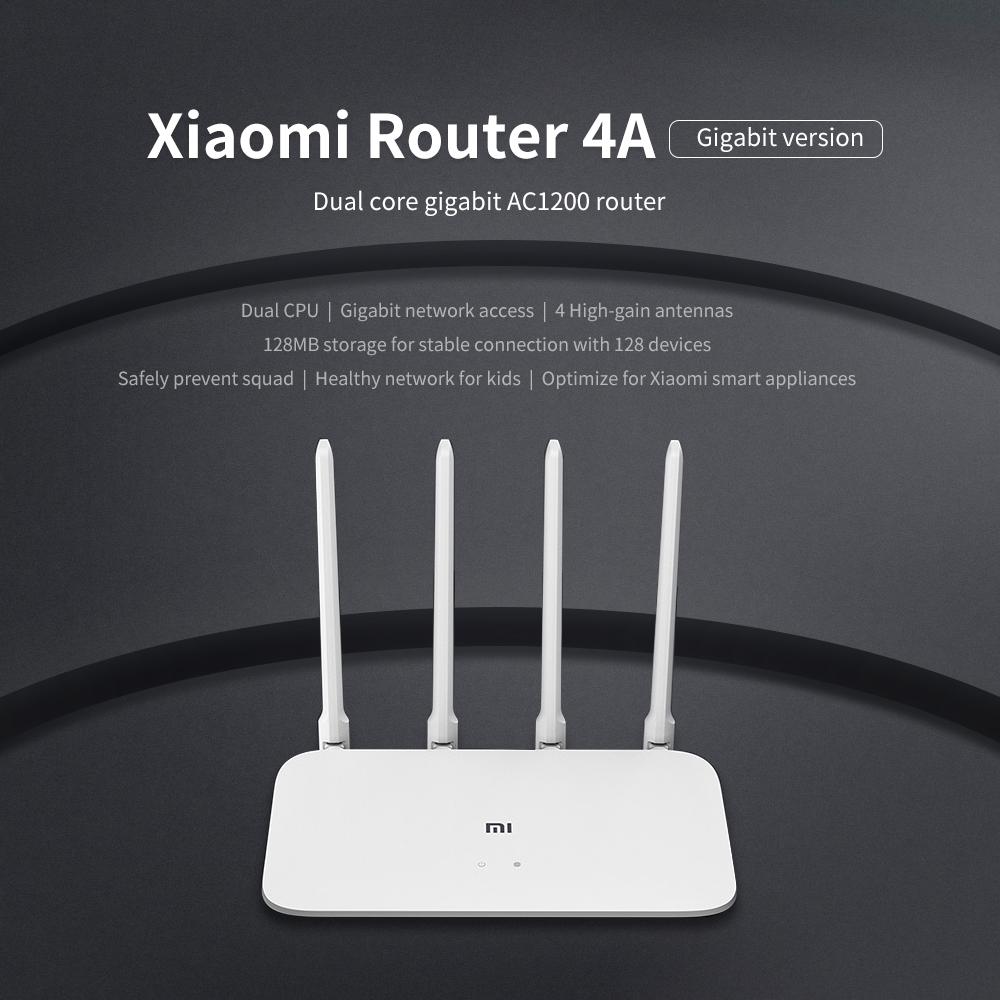 Xiaomi Mi Router 4A Gigabit Edition 2.4GHz 5GHz WiFi 16MB ROM 64MB DDR3 High Gain 4 Antennas Remote APP Control Support IPv6 (12)
