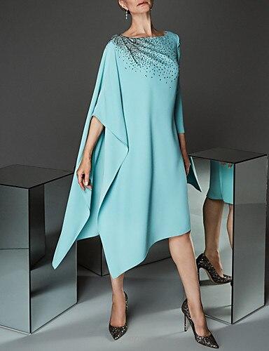 mother dress tailor shop sky blue beading dress mo