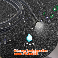 USB Endoscope Borescope With 6 LED Lights Snake Camera Inspection Dual Lens HD 1080P 32GB TF Card Video Industrial Waterproof
