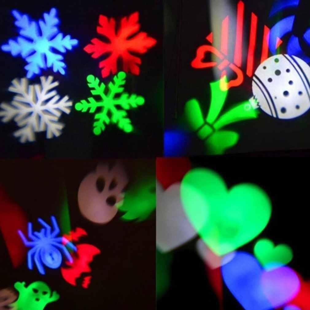 Laser Projector Lampen Led Stage Light Sneeuw Voor Kerst Party Landschap Licht Tuin Lamp Outdoor