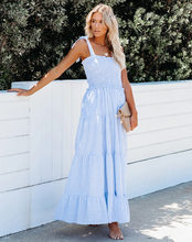 Colorful Stripe Halter Maxi Dress 2021New Summer Sexy Backless Long Dress For Women Print Beach Boho Slim Pleated Vestidos