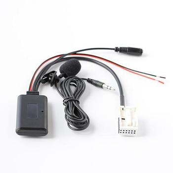 Car Aux Jack to 12Pin Plug Audio Cable Adaptor For BMW E60 E63 E64 E66 E81 E82 E70 E90 for iPhone 5 6 6S