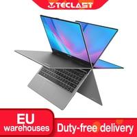 Teclast F5R Laptop 11.6'' IPS 1920*1080 Windows 10 OS Quad Core 8GB RAM 256GB SSD 360° Rotation Type C Quick Charge Notebook