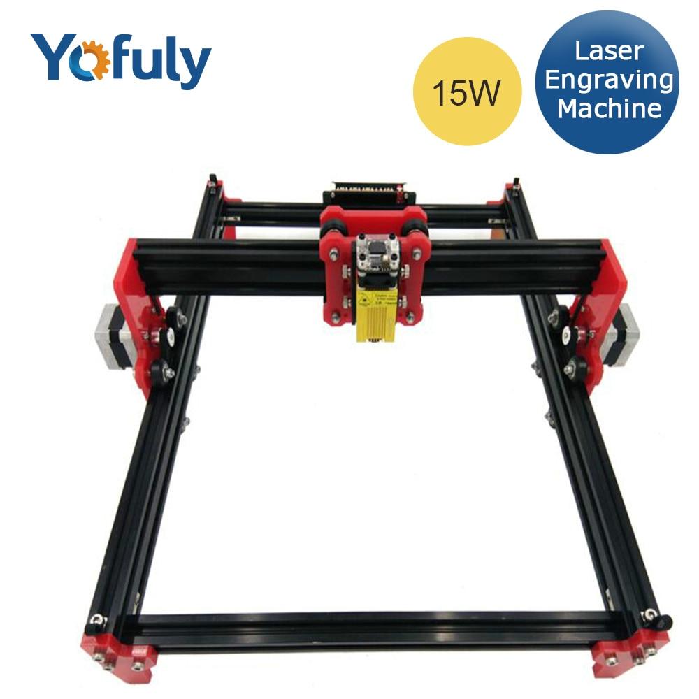 15W Laser Engraving Machine Laser Cutting Machine 39.5*28.5cm Working Area Metal Engrave Marking Machine
