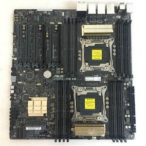 Оригинальная материнская плата для ASUS, Socket 2011-V3 DDR4 для ПК, б/у, V3, V4, DDR4, для ASUS Z10PE-D16