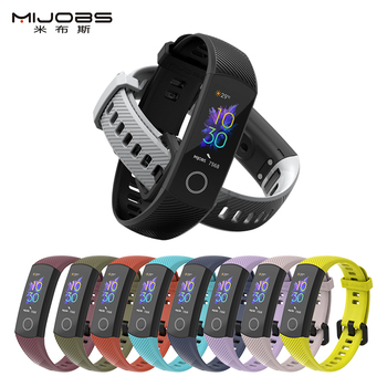 Strap For Huawei Honor Band 5 Smart Sport 4 Bracelet Silicone Wristband Correa