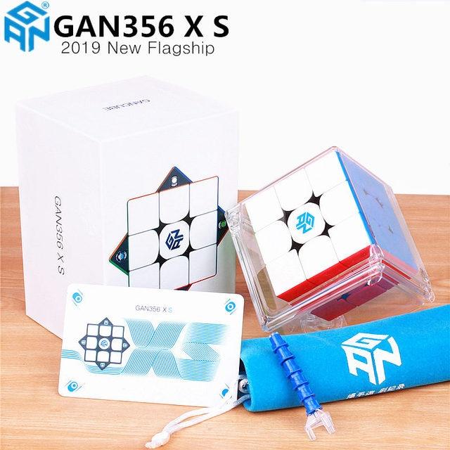 Nuovo GAN 356 XS Magnetico 3x3x3 Velocità Magico del Gan Cube Stickerless GAN356 X S Magneti di Puzzle cubi Per La Concorrenza GAN XS