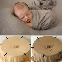 9 Color Soft Newborn Photography Fabric Backdrops For Boy And Girl Elasticity Knit Baby Photo Wraps Cloth Accessories cheap COTTON 0-6m CN(Origin) Unisex Babies Solid CBA-035 fabric backdrops for photography Newborn Photography wraps baby Cute blanket soft