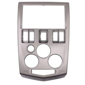 Image 2 - 2 Din Car Audio Radio Fascia For Renault Logan Dacia Logan 2004   2007 DVD Player Stereo Panel Frame Mount Dash Installation