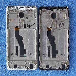 """Image 5 - 5.7 """"מקורי לmeizu M8/V8 פרו הגלובלי גרסת 4GB 64GB Axisintern LCD תצוגת מסך מסגרת + לוח מגע Digitizer M813h/ש"""