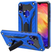 Чехол для Xiaomi Redmi Note 7 Чехол для Redmi 8 8A 7 7A 6 6A 5 5A роскошный противоударный жесткий силиконовый защитный чехол для телефона с подставкой
