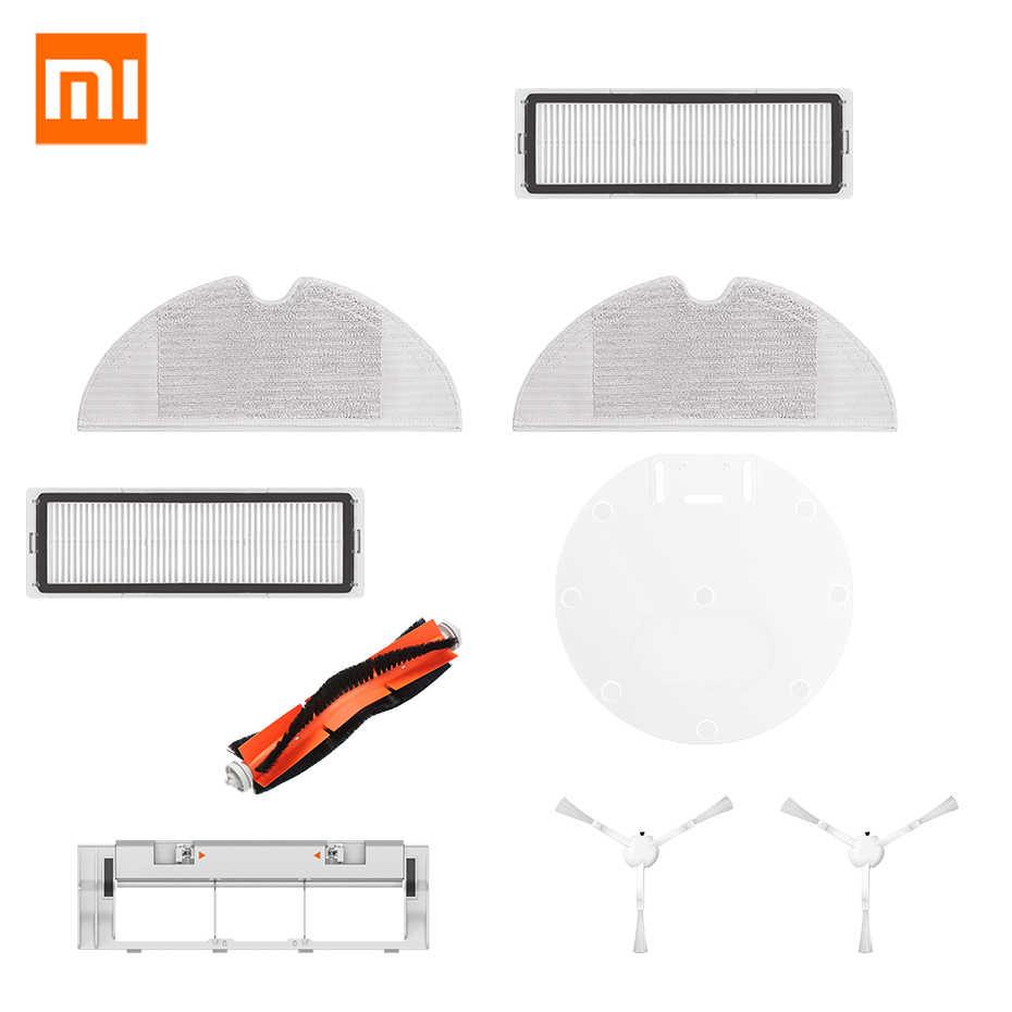 Rodillo Central Pack de Accesorios de Recambio para Robots aspiradora Xiaomi Mi Vacuum Roborock S50 S51 con Cepillo Lateral MIRTUX Kit de repuestos Xiaomi Mi Robot 1 y 2 filtros y Herramienta